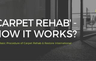 'Carpet Rehab' – How it works_