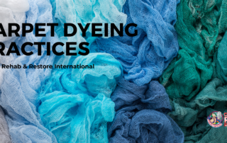 Carpet Dyeing practices